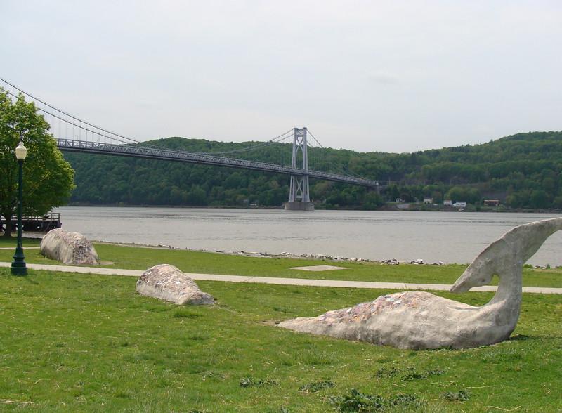 Tappen Zee Bridge across the Hudson River