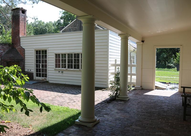 Covered  Garden Walkway