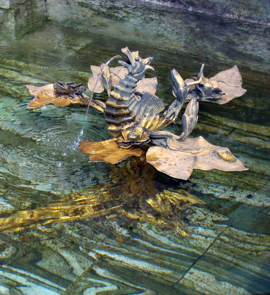 Water Sculpture at Kykuit Gardens