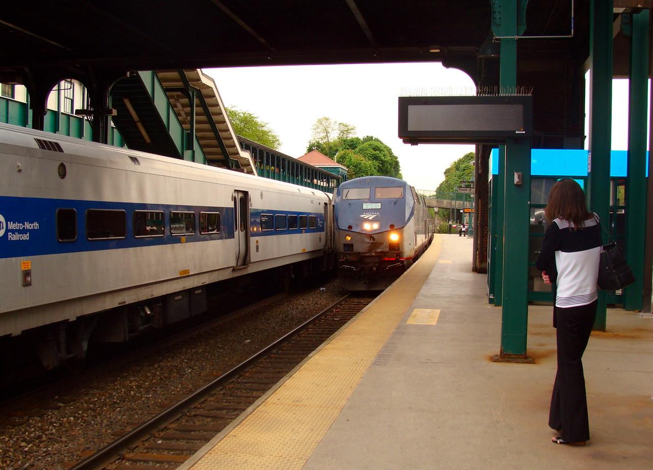 Amtrak Arrival