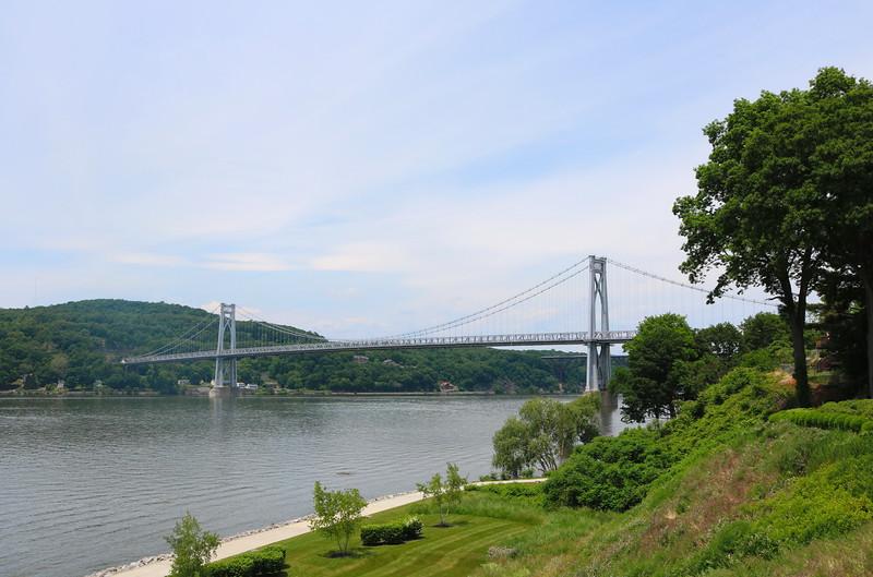 Poughkeepsie Bridge over the Hudson River