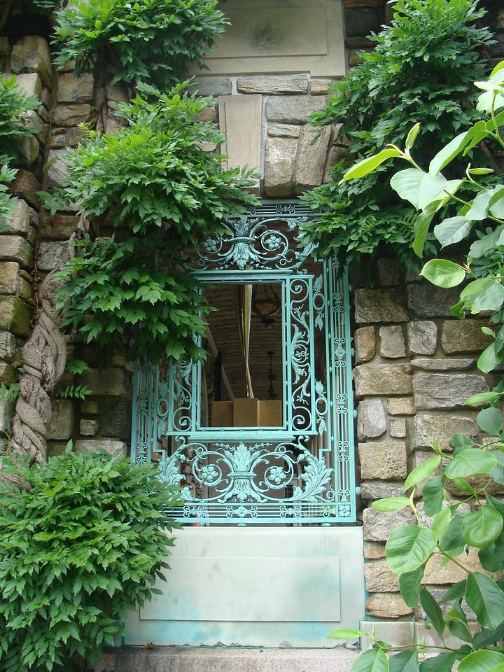 Copper Window Frame