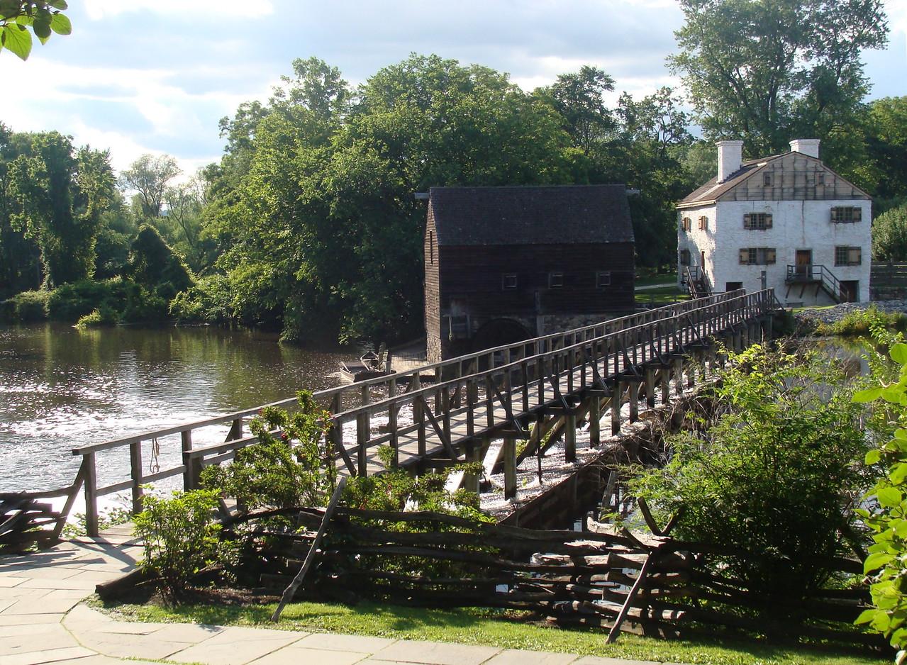 Bridge to Historic Philipsburg Manor