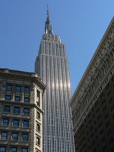 Empire State Bldg flanked