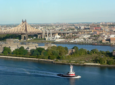 Queensborough Bridge & Governor's Island