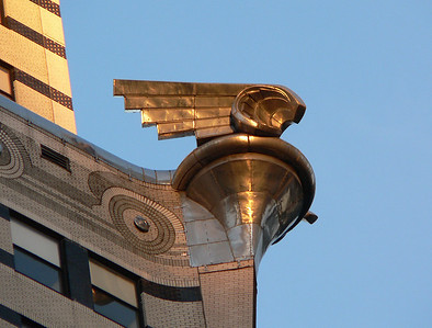 ornament on Chrysler Bldg