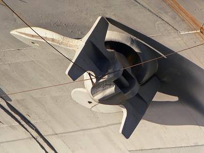 USS Intrepid anchor