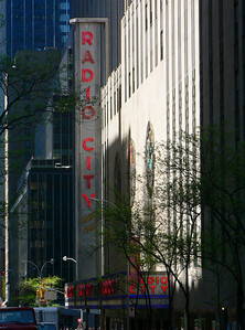 Radio City sign