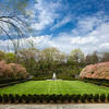 formal garden Central Park