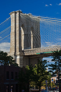 Brooklyn Bridge from Brooklyn Heights