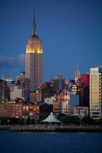 twilight Empire State Bldg