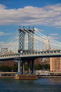 Manhattan Bridge west tower