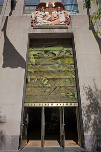 Piccirilli frieze 636 Fifth Ave Rockefeller Center