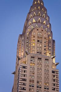 twilight Chrysler Building