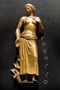 Tobacco goddess Rockefeller Center
