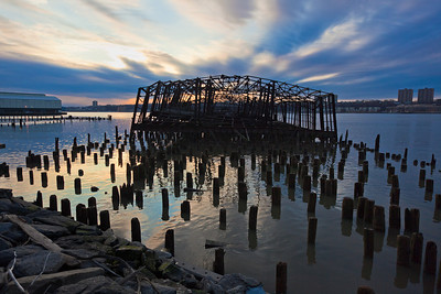 Pier D ruins NYCRR 60th St Yard