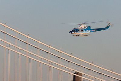 NYPD Air Sea Rescue helicopter