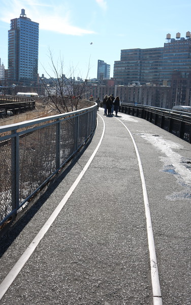 High Line Pedestrian Trail