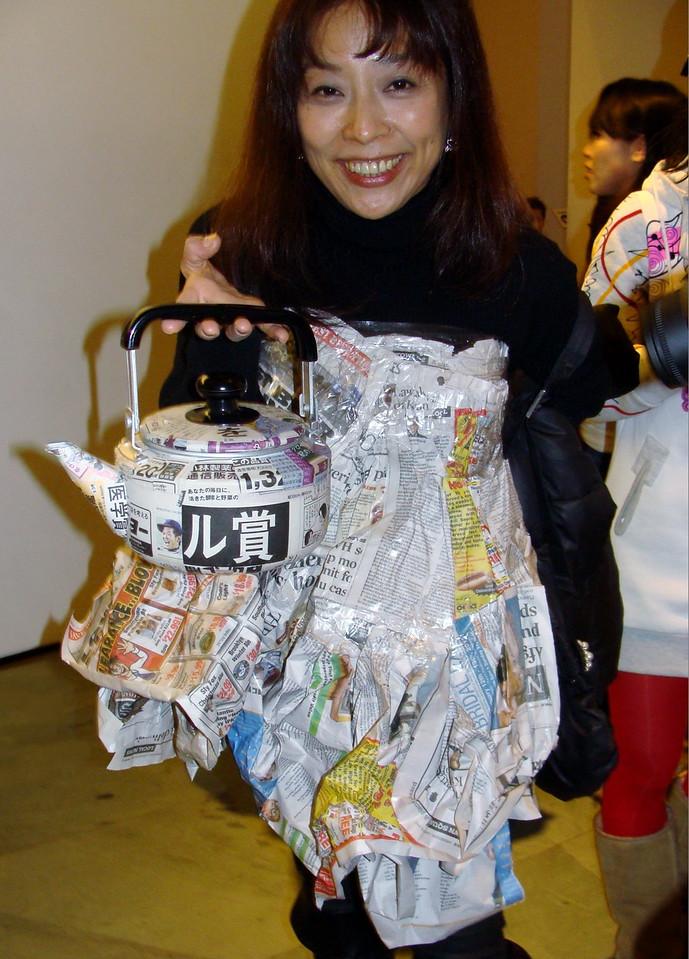 Newspaper Fashion Art