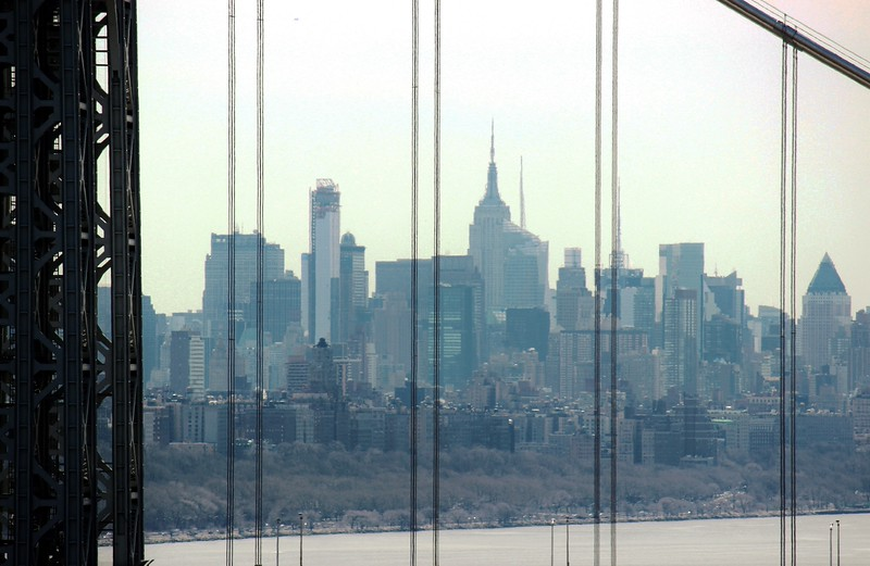 Manhattan from the George Washington Bridge