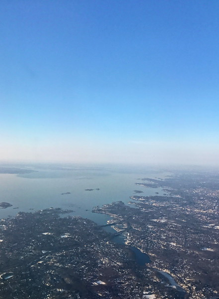 Hudson River Enters New York Harbor