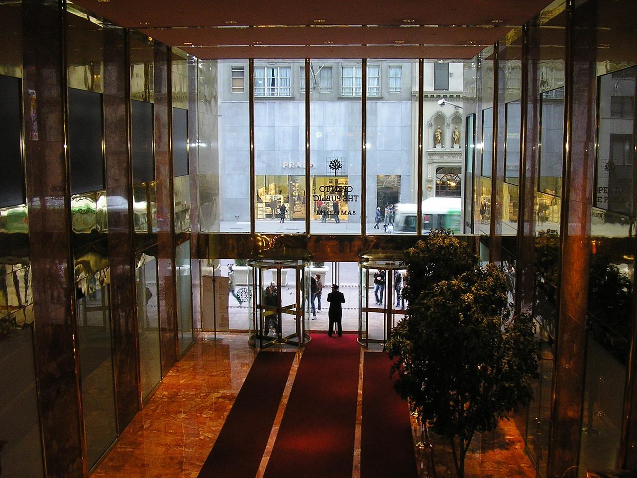 Trump Tower Lobby