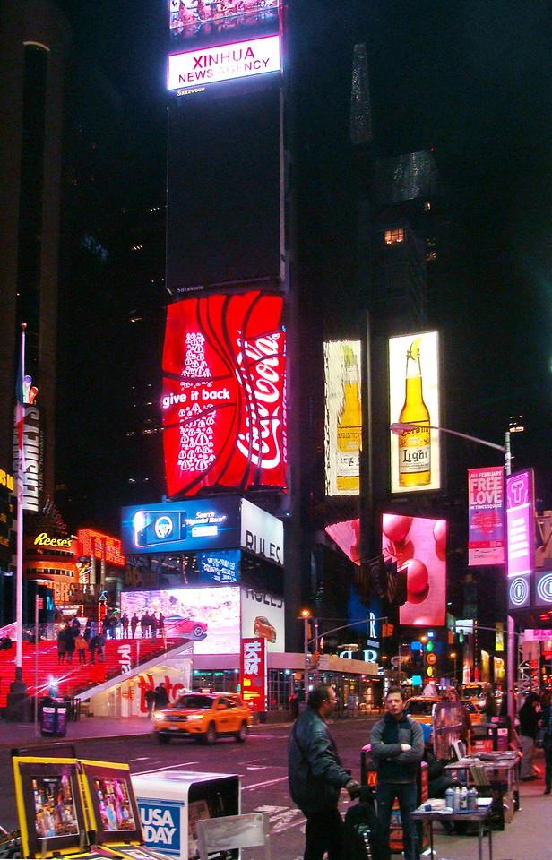 Coca Cola at Times Square