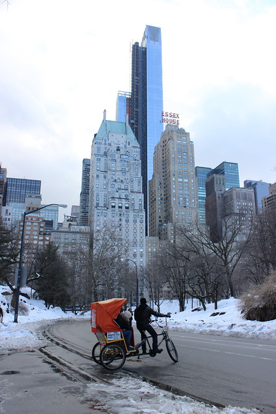 Pedicab in Central Park