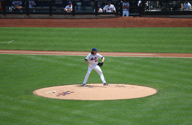 Mets Pitcher #48, Jacob deGrom