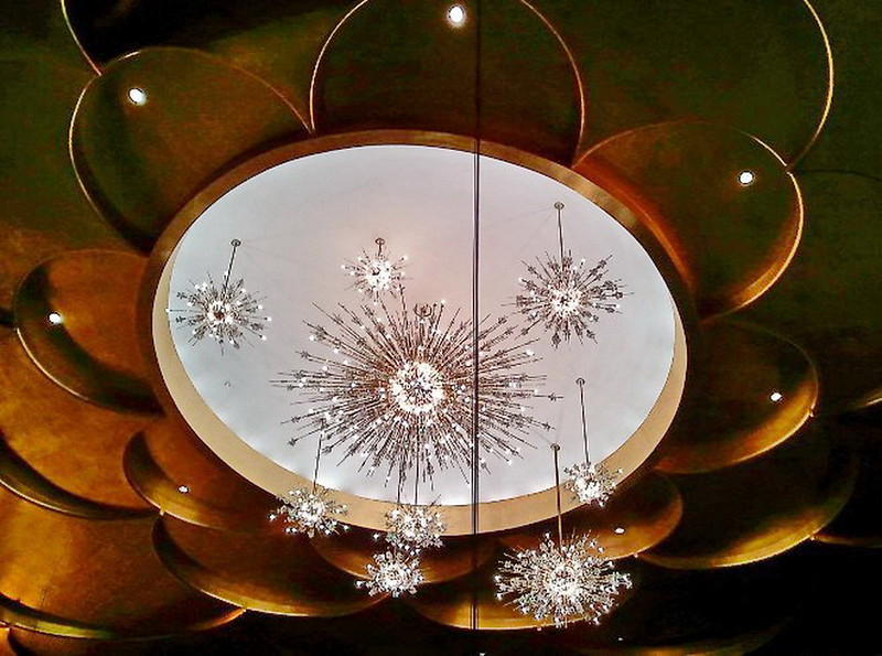 Acoustic Chandelier