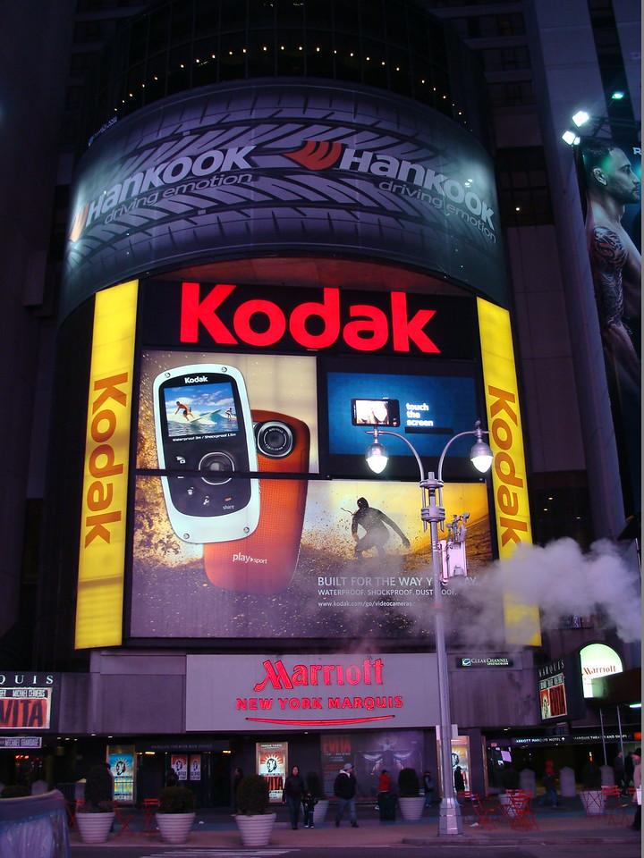 Kodak at Times Square