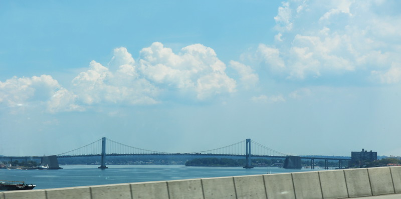 Throgs Neck Bridge over the East River