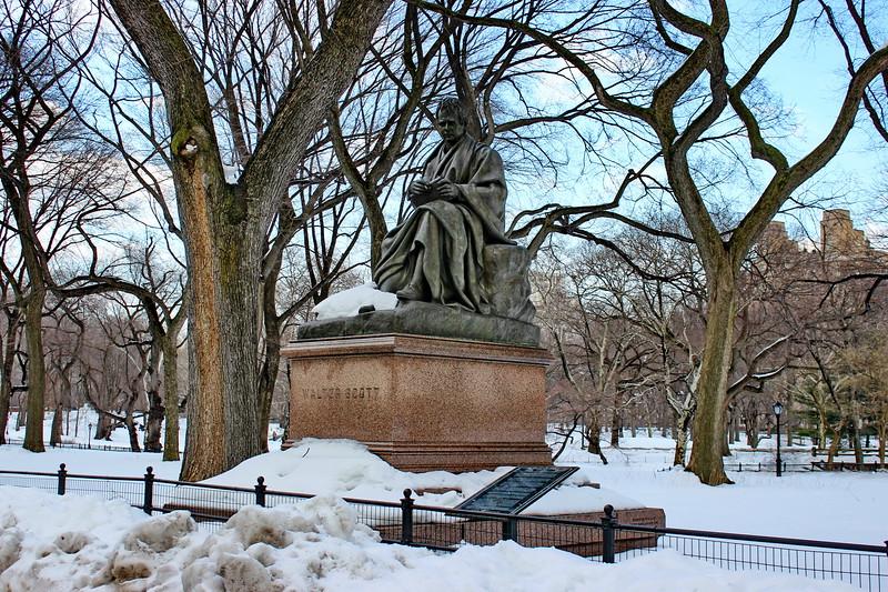Walter Scott Statue