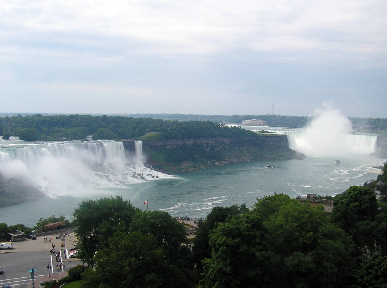 American and Canadian Falls
