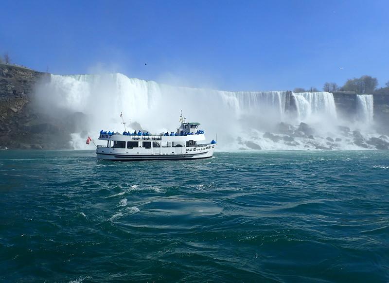 Cruising Past the Americn Falls