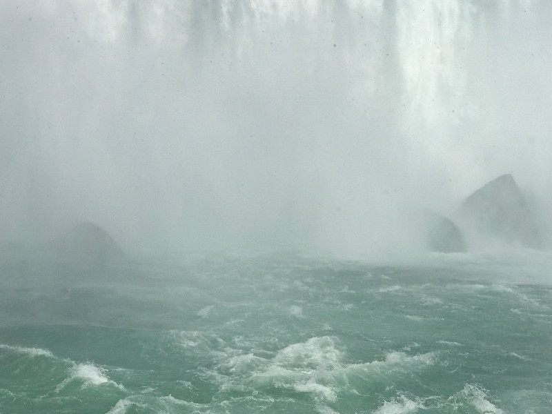 At the Base of the Canadian Falls