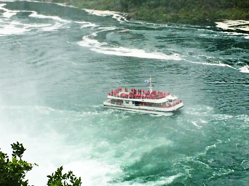 Maid of the Mist in a Spray of Mist