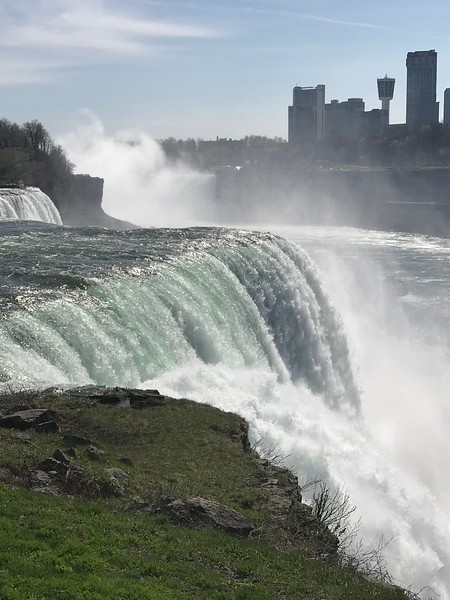 View of Niagara Falls from the USA