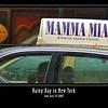 Mamma Mia! It's raining!