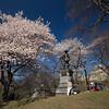 Pilgrim Fathers monument Central Park