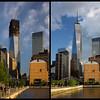 1 World Trade Center diptych 2012 & 2014
