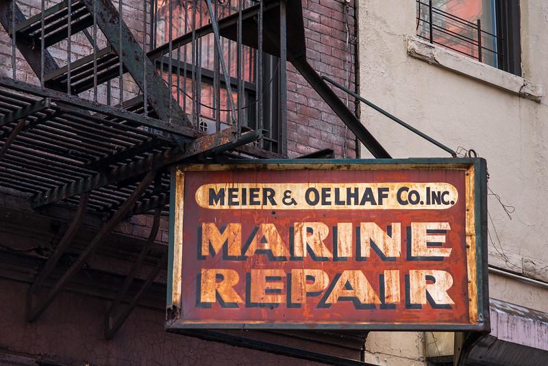 Meier & Oelhaf Co  Inc Marine Repair