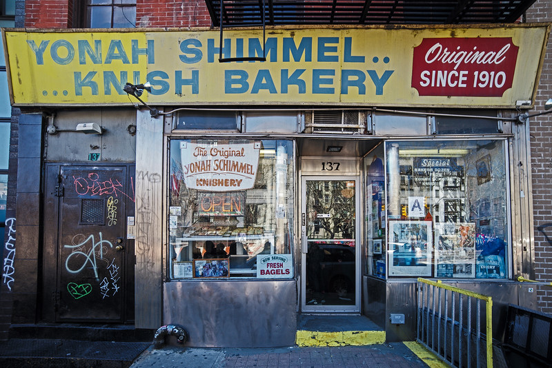 The Original Yonah Shimmel Knishery lower east side