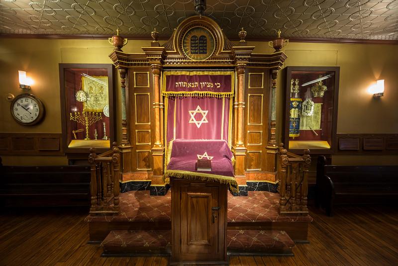 small chapel Eldredge Street Synagogue