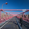 Rebecca on the Williamsburg Bridge