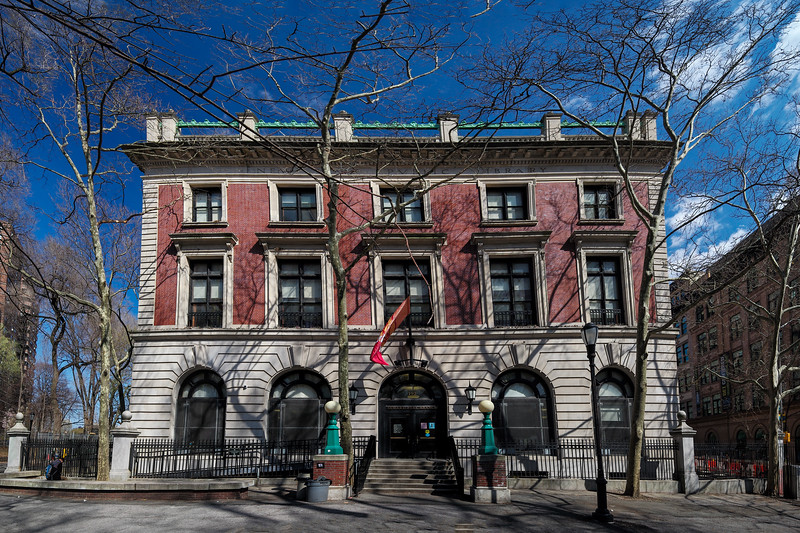 Seward Branch Lower East Side New York Public Library