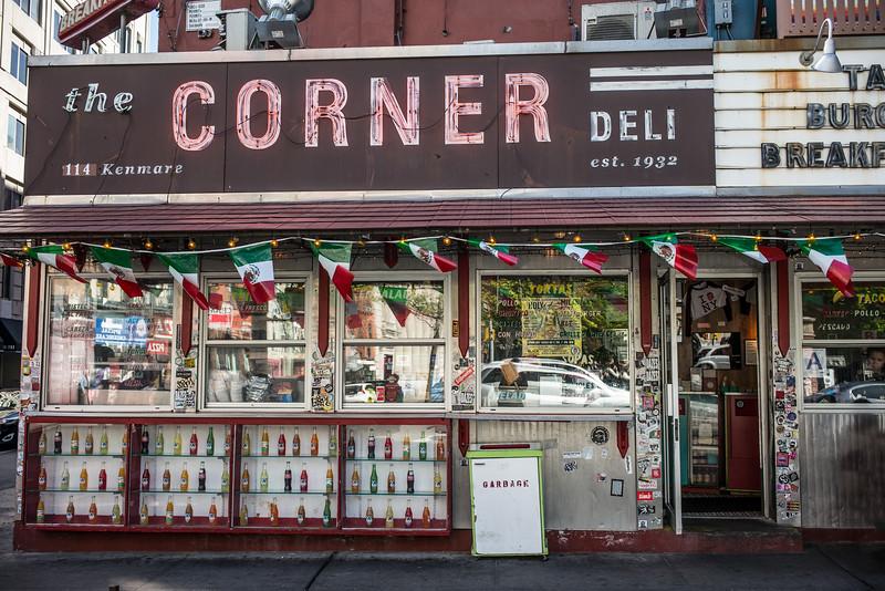 the Corner Deli est  1932 114 Kenmare