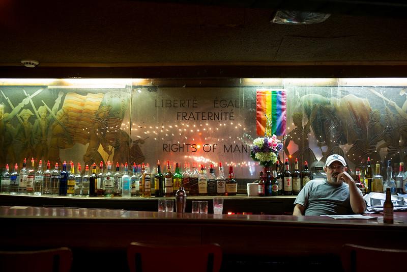 bartender Liberte Egalite Fraternite Rights of Man
