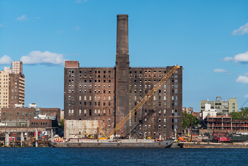 ruins of the Domino Sugar refinery