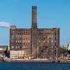 ruins of the Domino Sugar refinery